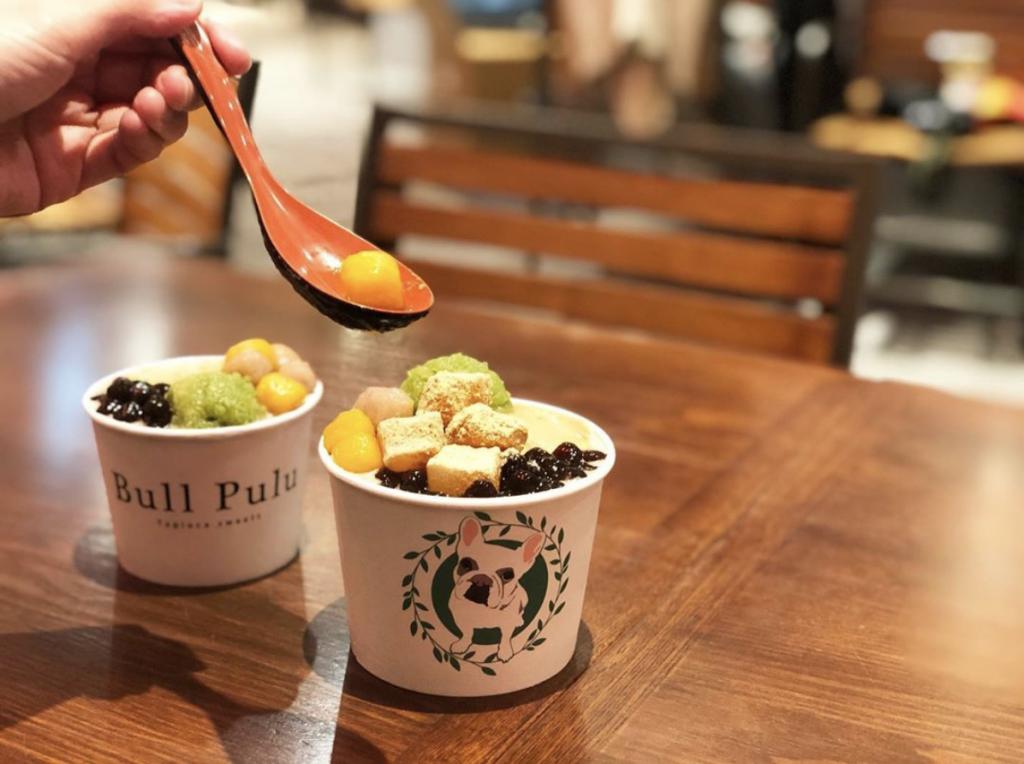 Bull Pulu TAIWAN CAFE エスパル仙台店『ずんだ入り豆花』