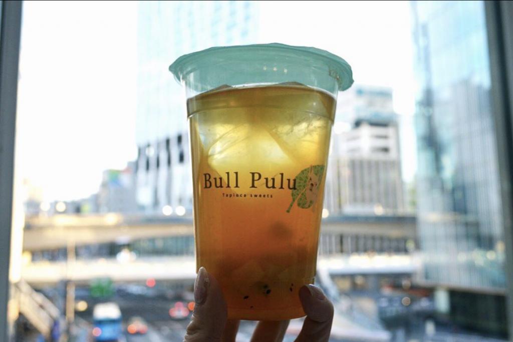 Bull Pulu渋谷ヒカリエ店限定『マンゴーキウイ青茶』のご紹介